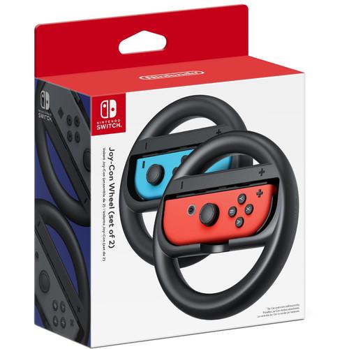 Nintendo Switch With Red Blue Joy Con Bundle Mario Kart 8 Travel Case 2 Wheels